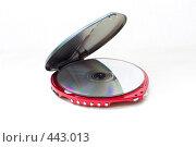 Купить «CD-плеер», фото № 443013, снято 6 сентября 2008 г. (c) Малютин Павел / Фотобанк Лори