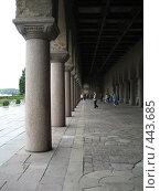Колоннада ратуши Стокгольма. Стоковое фото, фотограф Игорь Михновец / Фотобанк Лори