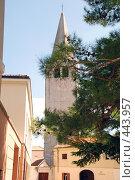 Купить «Базилика св. Ефразия в городе Пореч, Хорватия», фото № 443957, снято 26 августа 2008 г. (c) Лифанцева Елена / Фотобанк Лори