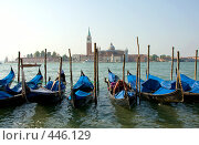 Утро в Венеции. Стоковое фото, фотограф ElenArt / Фотобанк Лори