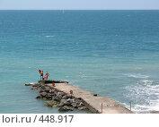 Купить «Отдых на Черном море», фото № 448917, снято 1 июля 2008 г. (c) Назаренко Ольга / Фотобанк Лори