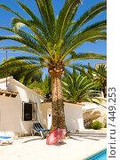 Купить «Вилла в Морайра, Испания», фото № 449253, снято 12 августа 2008 г. (c) Виталий Романович / Фотобанк Лори