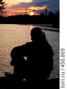 Купить «Силуэт», фото № 450869, снято 9 мая 2008 г. (c) Варвара Воронова / Фотобанк Лори