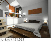 Купить «Интерьер спальни», иллюстрация № 451529 (c) Hemul / Фотобанк Лори