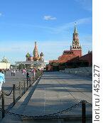 Купить «Москва. Красная площадь», фото № 452277, снято 27 августа 2007 г. (c) Денис Шароватов / Фотобанк Лори