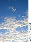 Купить «Облака на закате», фото № 452661, снято 7 июля 2020 г. (c) Роман Сигаев / Фотобанк Лори