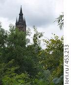 Купить «Башня.Университет в Глазго», фото № 453213, снято 22 августа 2008 г. (c) Юлия Бобровских / Фотобанк Лори