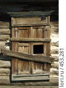 Купить «Окна деревенских домов», фото № 453281, снято 18 июня 2008 г. (c) Талдыкин Юрий / Фотобанк Лори
