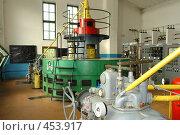 Купить «Старинная турбина гидроэлектростанции», фото № 453917, снято 20 августа 2008 г. (c) Александр Буровцев / Фотобанк Лори