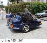 Мотоцикл - вид сзади (2008 год). Редакционное фото, фотограф Лариса Дамьян / Фотобанк Лори