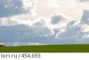 Солнечное поле. Стоковое фото, фотограф Владислав Грачев / Фотобанк Лори