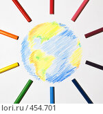 Разносолнечная Земля. Стоковое фото, фотограф Владислав Грачев / Фотобанк Лори