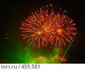 Купить «Салют в честь 265-летия Оренбурга», фото № 455581, снято 27 августа 2007 г. (c) Geo Natali / Фотобанк Лори