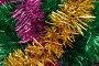 Новогодние украшения. Гирлянды мишуры, фото № 456833, снято 8 ноября 2006 г. (c) Георгий Марков / Фотобанк Лори