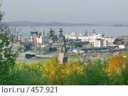 Купить «Североморск.Вид на причалы.», фото № 457921, снято 14 сентября 2008 г. (c) Андрей Субач / Фотобанк Лори