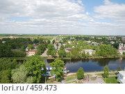 Панорама Вологды (2008 год). Редакционное фото, фотограф Сергей Анисимов / Фотобанк Лори