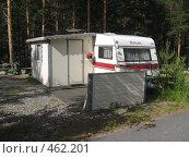 Домик в кемпинге (2008 год). Редакционное фото, фотограф Anna Marklund / Фотобанк Лори