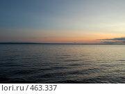 Онежские зори. Стоковое фото, фотограф николай шишкин / Фотобанк Лори