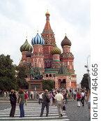 Купить «Собор Василия Блаженного», фото № 464665, снято 24 августа 2008 г. (c) Ольга Батракова / Фотобанк Лори
