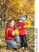 Купить «Прогулка в осеннем парке», фото № 465949, снято 13 июля 2020 г. (c) Losevsky Pavel / Фотобанк Лори