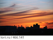 Купить «Закат в городе», фото № 466141, снято 25 апреля 2008 г. (c) Морозова Татьяна / Фотобанк Лори
