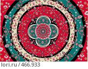 Купить «Ковер с цветочным орнаментом», иллюстрация № 466933 (c) Losevsky Pavel / Фотобанк Лори