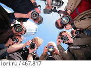 Купить «Фотографы», фото № 467817, снято 23 февраля 2019 г. (c) Losevsky Pavel / Фотобанк Лори