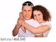 Купить «Молодая пара», фото № 468045, снято 14 ноября 2019 г. (c) Losevsky Pavel / Фотобанк Лори
