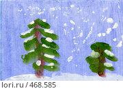 Купить «Новый год. Ёлки», иллюстрация № 468585 (c) Козырин Илья / Фотобанк Лори