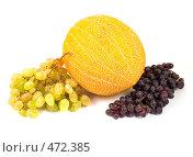 Купить «Гроздья винограда с дыней», фото № 472385, снято 29 февраля 2020 г. (c) Коннов Леонид Петрович / Фотобанк Лори