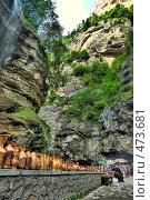 Купить «Чегемские водопады», фото № 473681, снято 30 августа 2008 г. (c) Маковеев Антон / Фотобанк Лори
