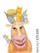 Купить «Масленица», иллюстрация № 478849 (c) Олеся Сарычева / Фотобанк Лори