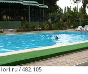 Купить «Отдых в бассейне», фото № 482105, снято 12 сентября 2007 г. (c) Нетичук Александр / Фотобанк Лори