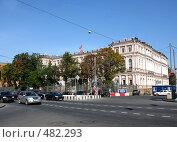 Купить «Площадь Труда. Петербург», фото № 482293, снято 23 сентября 2008 г. (c) Юлия Подгорная / Фотобанк Лори