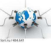 Купить «Глобальная сеть Интернет. Концептуальное изображение.», иллюстрация № 484641 (c) Ильин Сергей / Фотобанк Лори