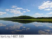 Купить «Река П.Тунгуска», фото № 487189, снято 19 июля 2008 г. (c) Сергей Нестеров / Фотобанк Лори