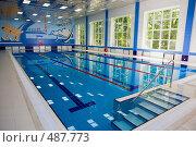 Купить «Плавательный бассейн», фото № 487773, снято 14 июля 2008 г. (c) Татьяна Белова / Фотобанк Лори