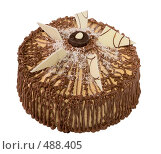 Купить «Подарочный торт со сгущенкой», фото № 488405, снято 26 сентября 2008 г. (c) Анна Мегеря / Фотобанк Лори