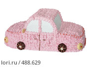 Купить «Подарочный торт в форме автомобиля», фото № 488629, снято 26 сентября 2008 г. (c) Анна Мегеря / Фотобанк Лори