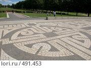 Купить «Рунические символы в парке Вигеланна», фото № 491453, снято 7 июля 2008 г. (c) Ярослав Никитин / Фотобанк Лори
