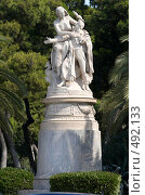 Купить «Памятник лорду Байрону в национальном парке в Афинах. Греция.», фото № 492133, снято 27 сентября 2008 г. (c) Алексей Зарубин / Фотобанк Лори