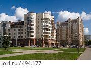 Купить «Элитное жилье в Уфе», фото № 494177, снято 19 сентября 2008 г. (c) Игорь Момот / Фотобанк Лори