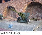 Купить «Дивизионная противотанковая пушка ЗиС-3», фото № 494329, снято 21 октября 2007 г. (c) Александра Стрижева / Фотобанк Лори