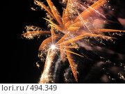 Купить «Фейерверк. Салют. Праздник.», фото № 494349, снято 4 октября 2008 г. (c) Федор Королевский / Фотобанк Лори