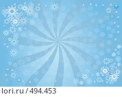 Купить «Новогодне-зимний фон», иллюстрация № 494453 (c) Олеся Сарычева / Фотобанк Лори