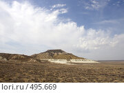 Купить «Чинк плато Устюрт», фото № 495669, снято 4 мая 2008 г. (c) Охотникова Екатерина *Фототуристы* / Фотобанк Лори