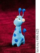 Игрушка синий жираф, фото № 496625, снято 16 апреля 2006 г. (c) Александр Максимов / Фотобанк Лори