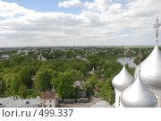 Панорама Вологды (2008 год). Стоковое фото, фотограф Сергей Анисимов / Фотобанк Лори