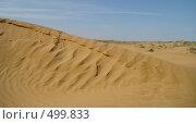 Купить «Пустынный вид - песок и жара», фото № 499833, снято 18 сентября 2008 г. (c) Игорь Муртазин / Фотобанк Лори