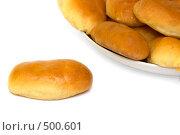 Купить «Свежевыпеченные пирожки», фото № 500601, снято 1 сентября 2008 г. (c) Наталья Герасимова / Фотобанк Лори